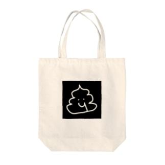 血便くん Tote bags