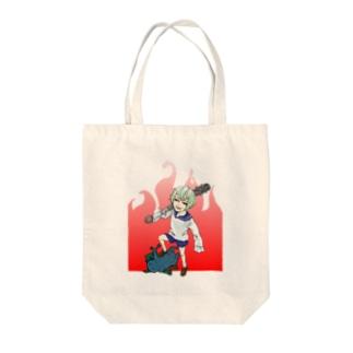 小鬼on邪鬼 Tote bags