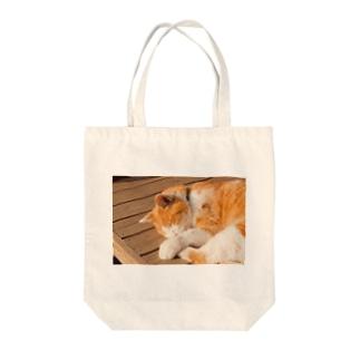 鎌倉の猫 Tote bags