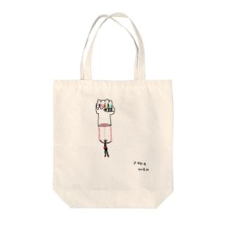 エキス Tote bags