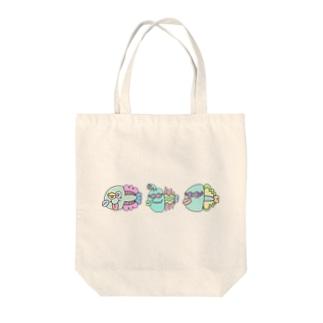 世紀末お魚市場 Tote bags