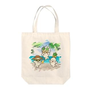 常夏ベビー Tote bags