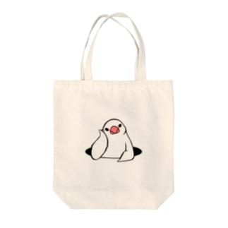 アンニュイ文鳥 Tote bags