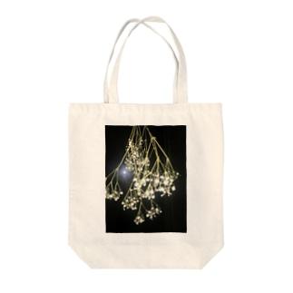 かすみ草 Tote bags