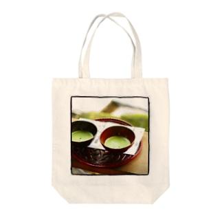 抹茶 Tote bags