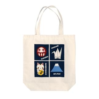 japan Tote bags