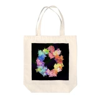 モザイクアート【カラフル】 Tote bags