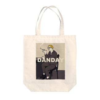 ダンディだねマイケゥ Tote bags