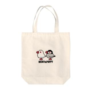 NICKY&POPPY Tote bags