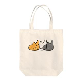 みけねちこ Tote bags