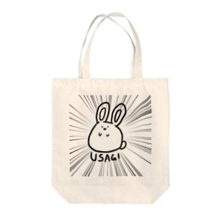 集中線×USAGI Tote bags