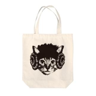 羊猫 トートバッグ