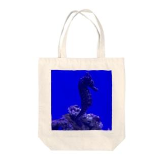 Seahorse  〜タツノオトシゴ〜 Tote bags