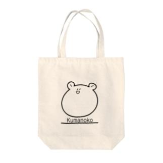 Kumanoko Tote bags
