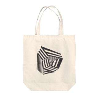 Dazzle Monotone Tote bags