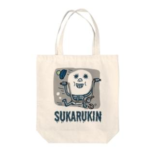 """SUKARUKIN """"バイキング・ハイ"""" Tote Bag"""