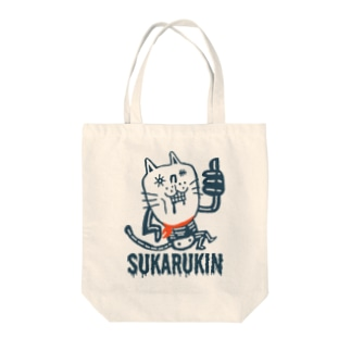 """SUKARUKIN """"ニャイス・イズ・デッド""""  Tote bags"""