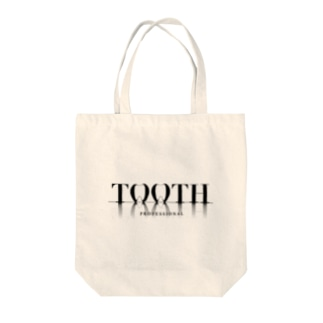 Tooth logo トートバッグ