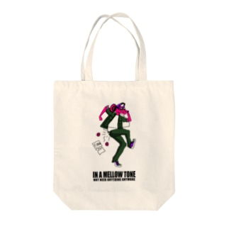 IN A MELLOW TONE -red- Tote bags