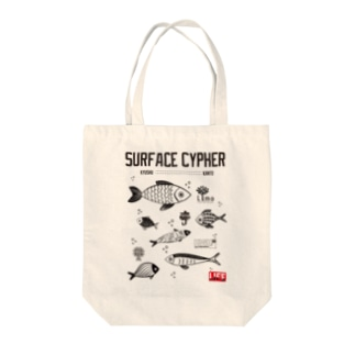 SURFACE CYPHER Tote bags