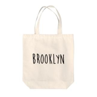 ブルックリン Tote bags