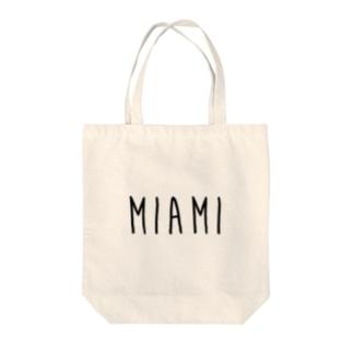 マイアミ Tote bags