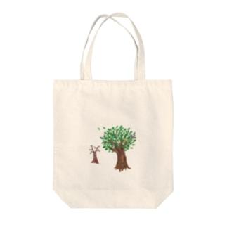 ことわざシリーズ「寄らば大樹の陰」 Tote bags