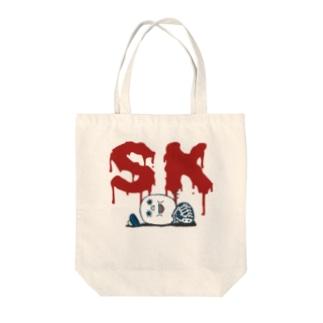 """SUKARUKIN """"がっかりヘッド"""" Tote bags"""