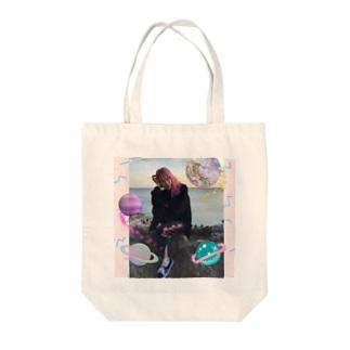 海辺のハルコ Tote bags