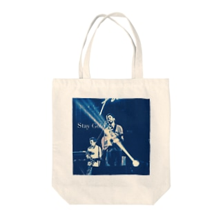 Stay Gold Tote bags