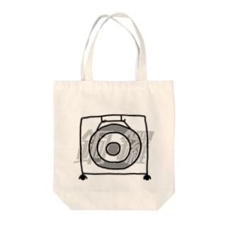 銅鑼 -DORA- Tote bags