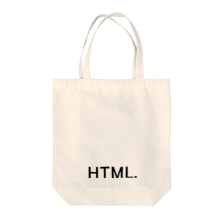 HTML. Tote bags