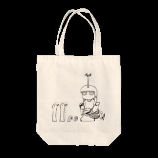 小林銅蟲のneg1084a トートバッグ