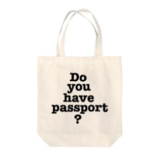 パスポートは Tote bags