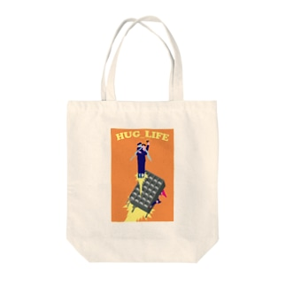100%オリジナルデザインアイテム Tote bags