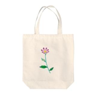 ミヤコワスレ Tote bags