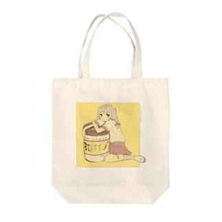 女子 Tote bags