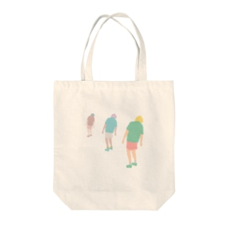 Laid Back Tote bags