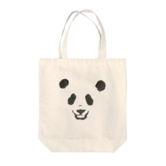 ちょっとむかつくパンダ Tote bags