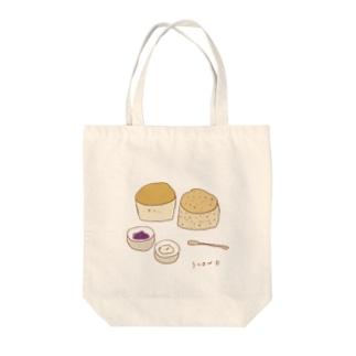 スコーン Tote bags