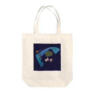 支笏湖と海の思い出 Tote bags