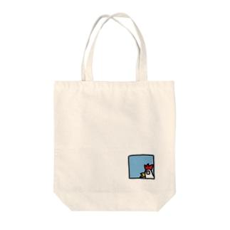 コケッ!! Tote bags
