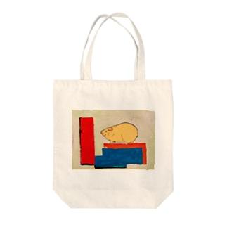 積み木あそび Tote bags