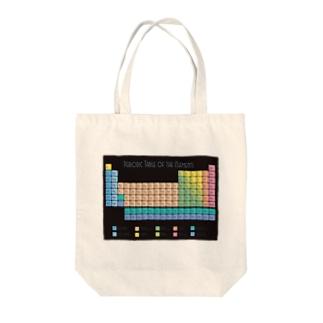 元素記号周期表 Tote bags
