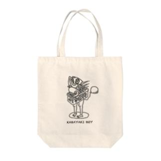 KABAYAKI BOY Tote bags