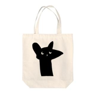 ラッキー猫 Tote bags