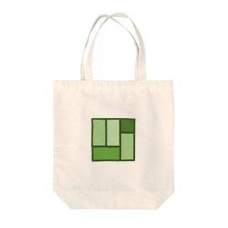 tatami v3 Tote bags