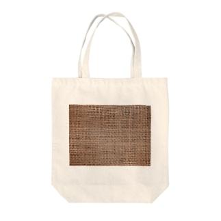ジュート生地プリント#6 Tote bags