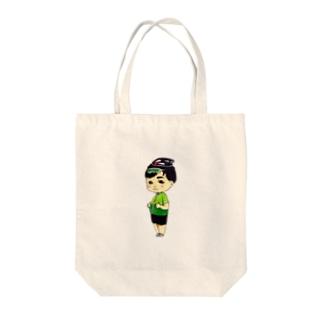 ゆるポタの伝道師マツムラ Tote bags