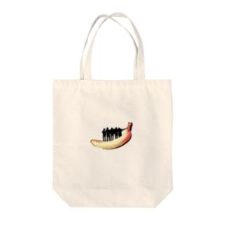 JSTバナナ Tote bags